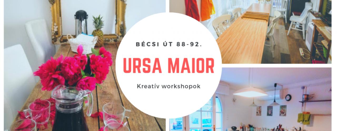 Ursa Maior  Kreatív Workshopok